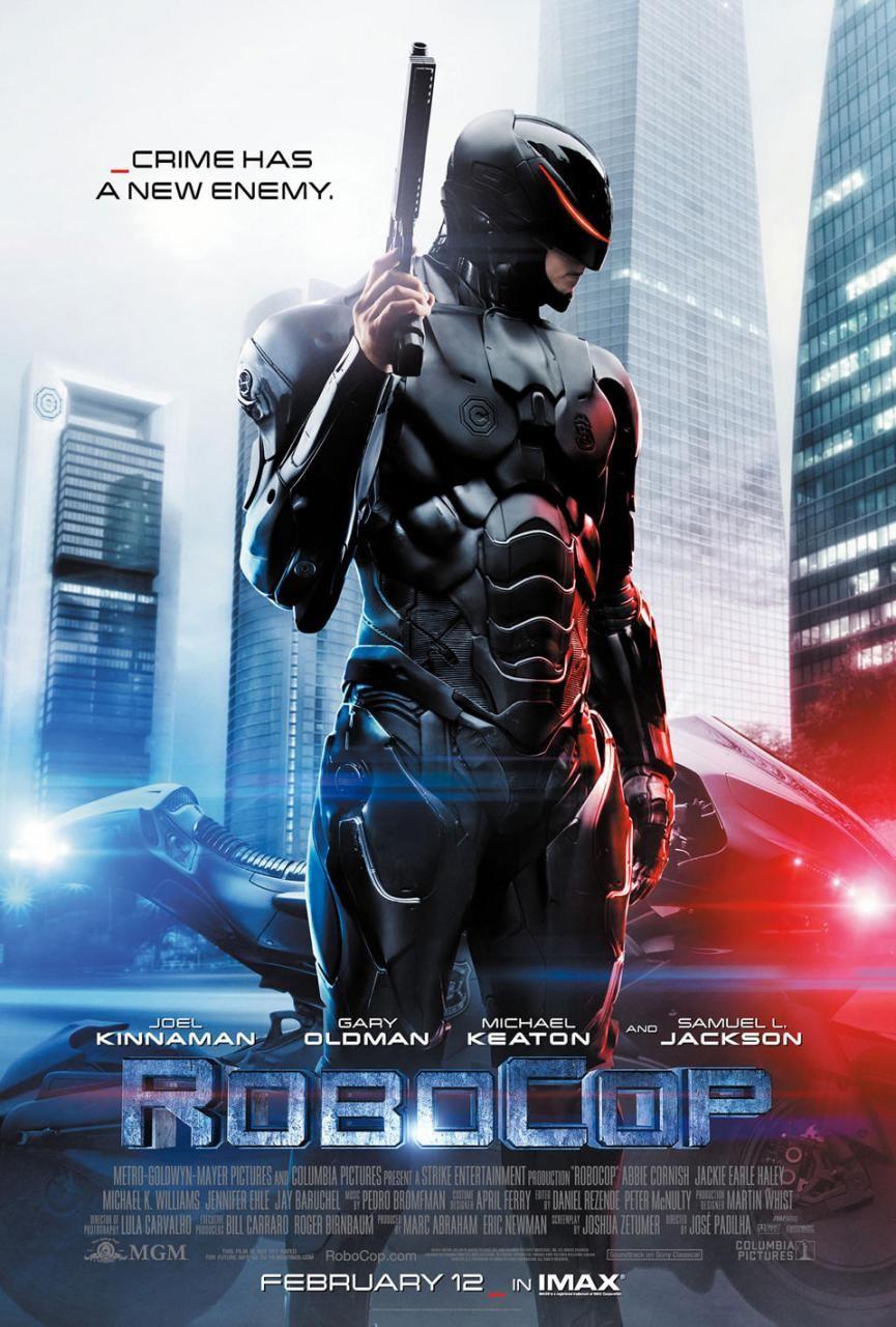 Robocop. Nuevo poster del remake