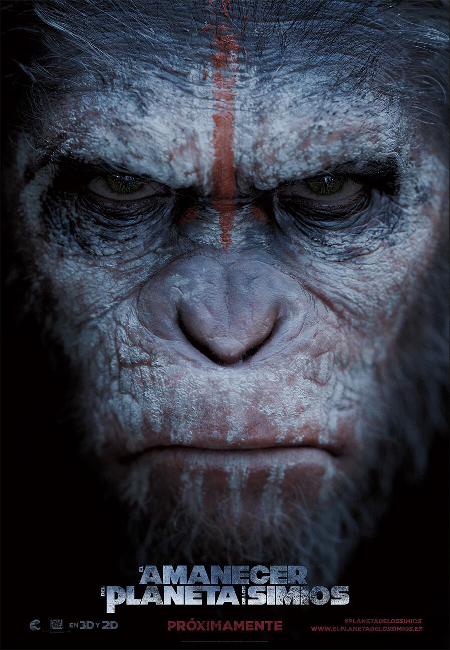 El amanecer del planeta de los simios. Poster