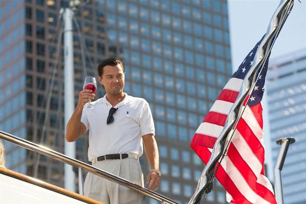 Leonardo DiCaprio. El lobo de Wall Street