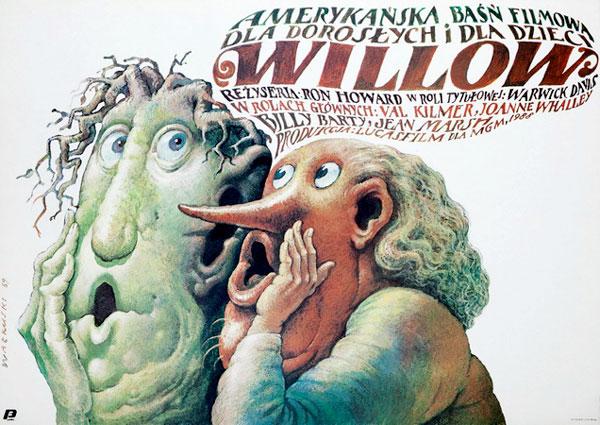 TEA escuela polaca poster de cine de los 80