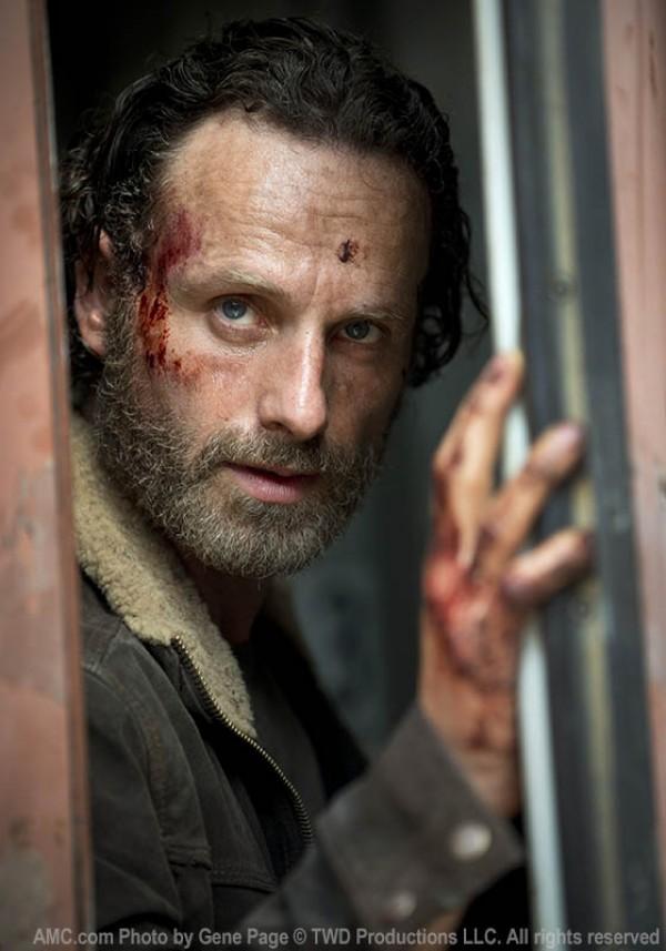 The Walking Dead. Quinta temporada. Rick Grimes