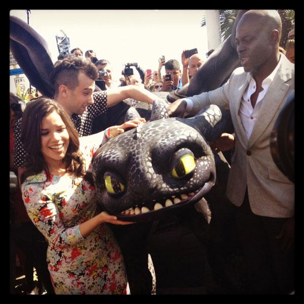 Cómo entrenar a tu dragón 2 en Cannes