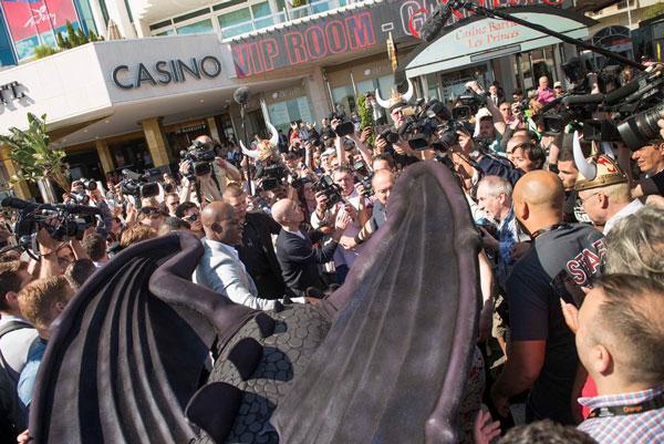 Como entrenar a tu dragón 2 en Cannes