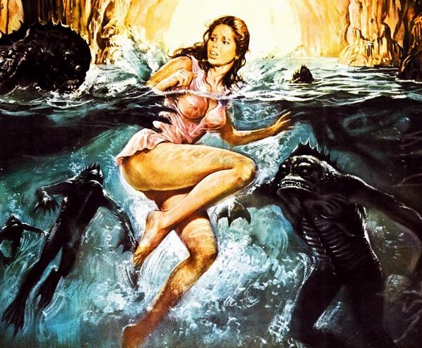 Cinebasura. La Isla de los Hombres peces. Con Viruete, Paco Fox y Ángel Sala