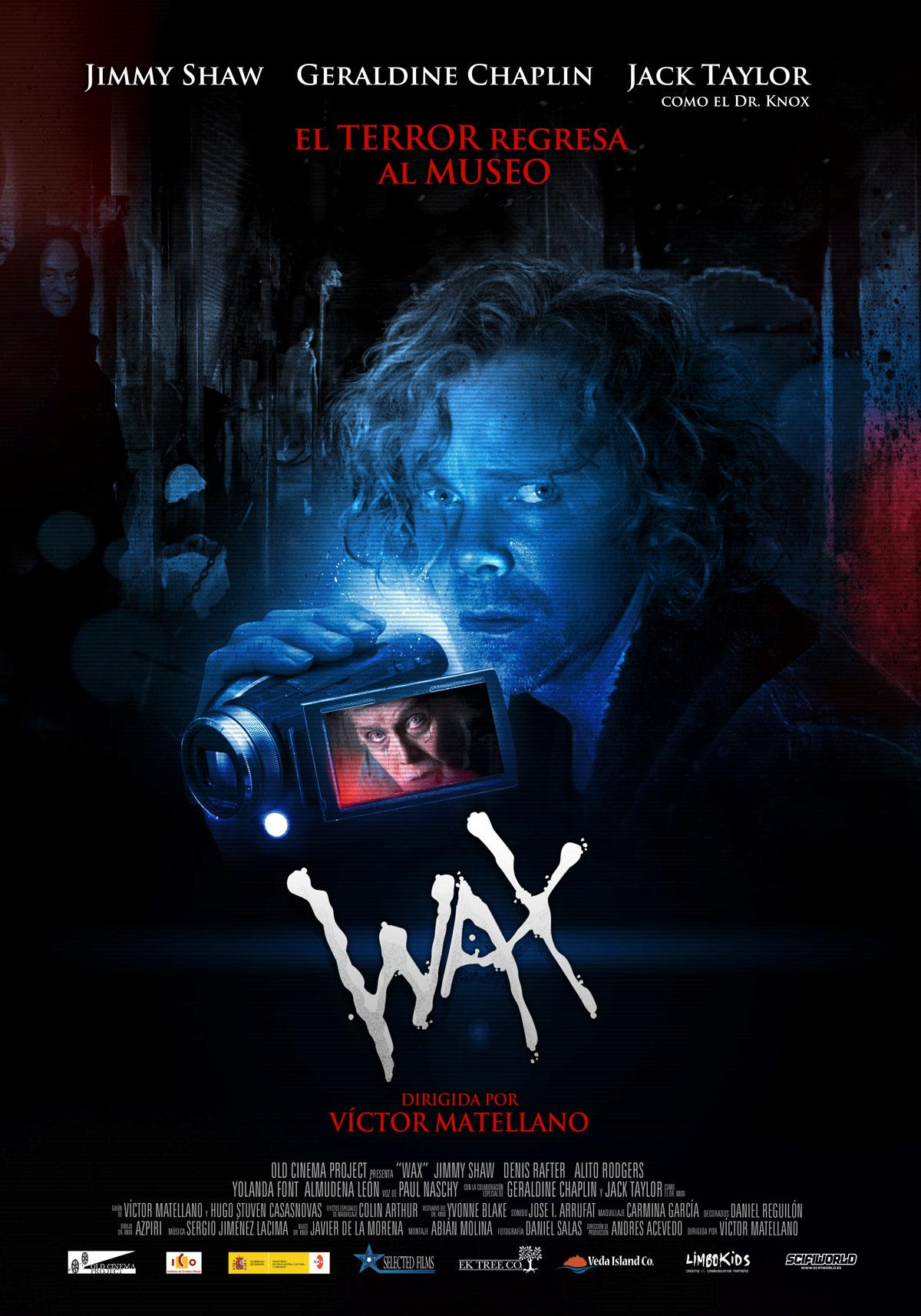 WAX. Poster Estreno España.