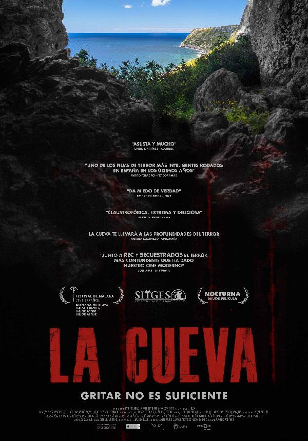 La cueva, Cartel español.