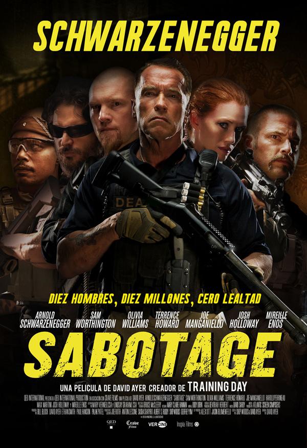 Sabotaje. Cartel España