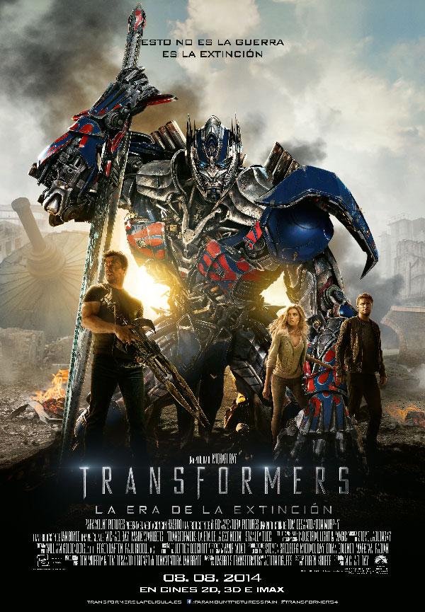 Transformers. La era de la Extinción.