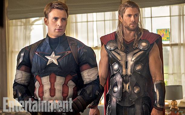 Los vengadores 2. Thor. Capirán América