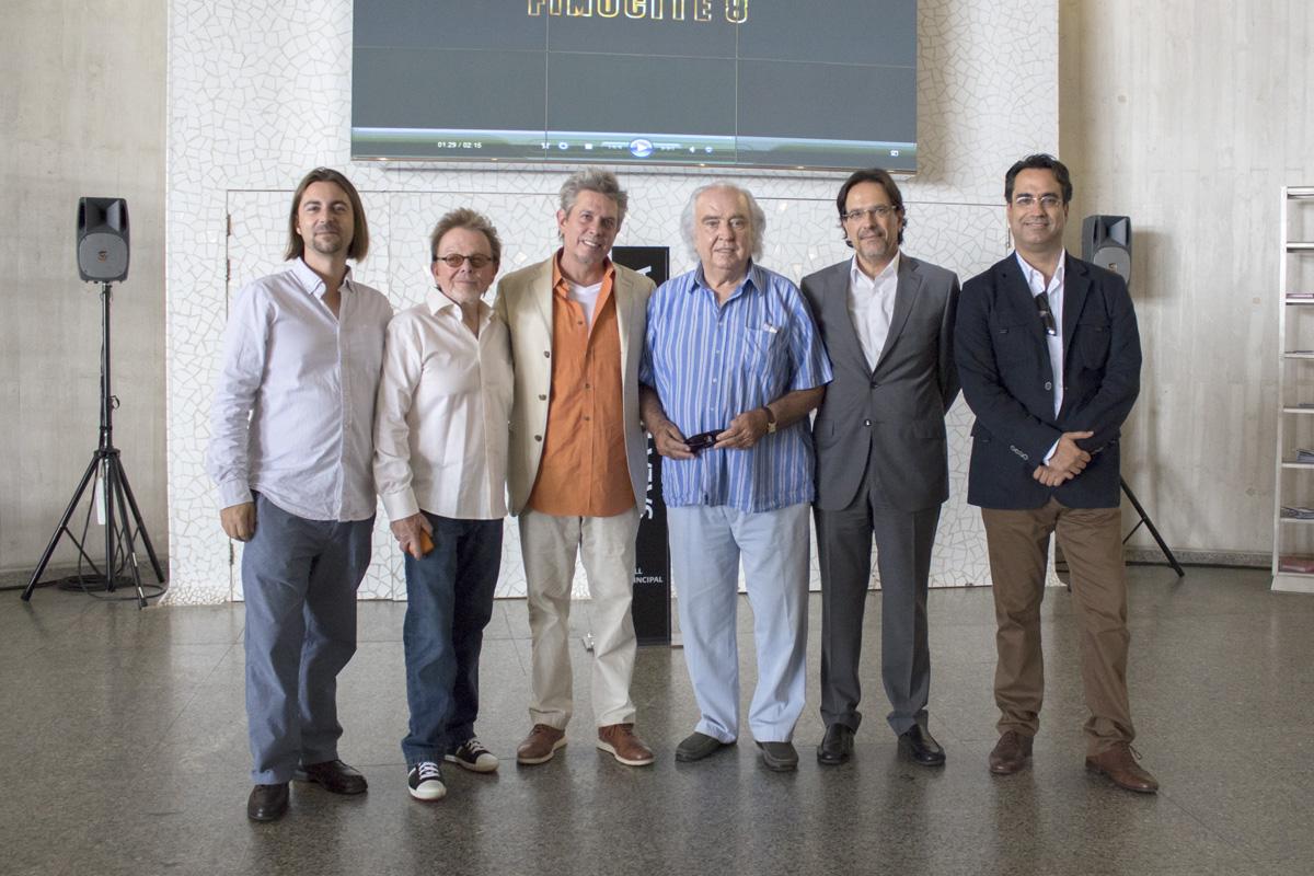 Paul Williams, Antón García Abril, Elliot Goldenthal, Diego Navarro, Cristonal de la Rosa, Pedro Mérida