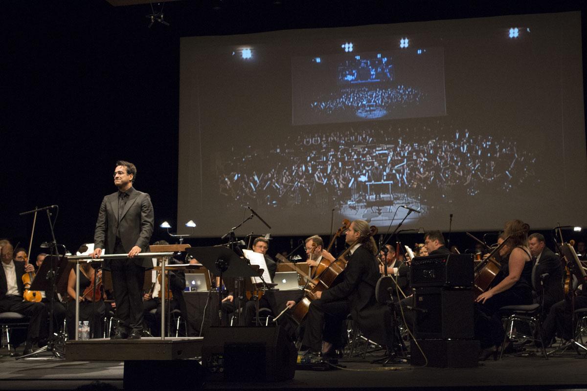 Fimucité 2014. Gala de Clausura. Sinfonía de Gotham. Diego Navarro.