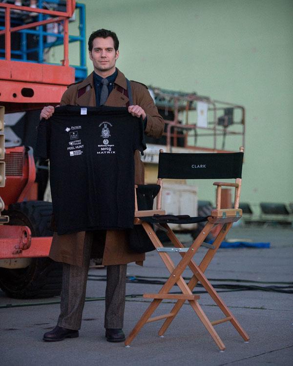Primera imagen Henry Cavill como Clark Kent en Superman v Batman