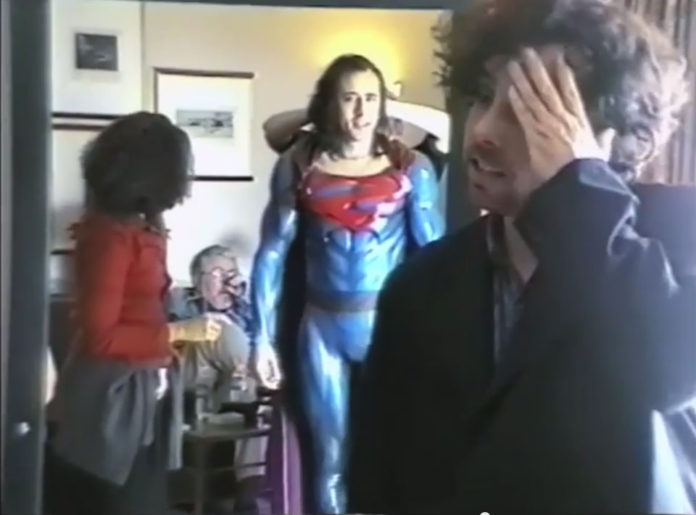 Superman Lives! Tim Burton Nicholas Cage