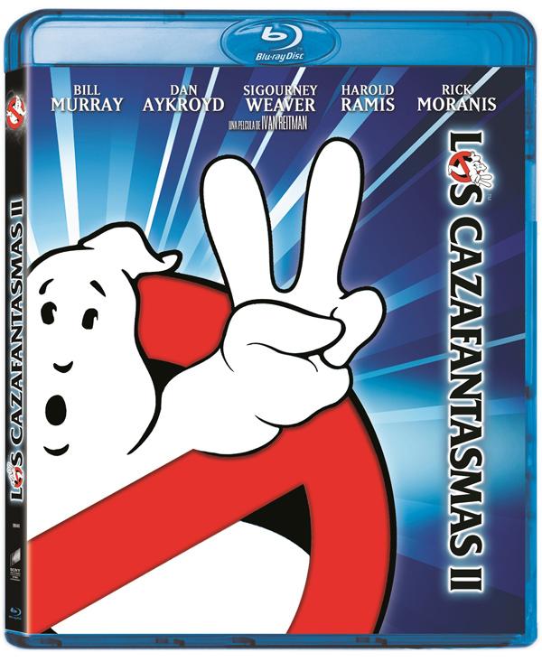 Los Cazafantasmas 1 en Blu-Ray