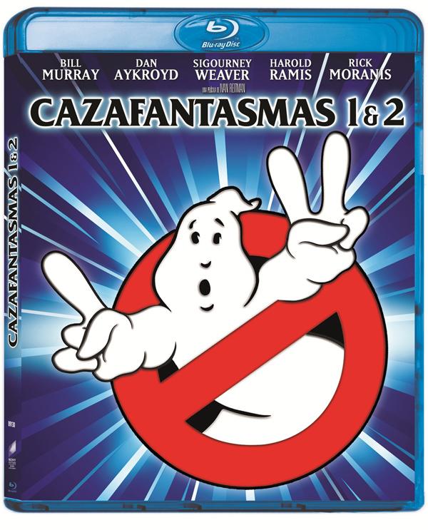 Cazafantasmas 1 y 2 en Blu-Ray