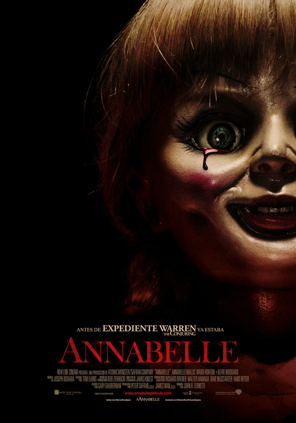Annabelle. Póster España