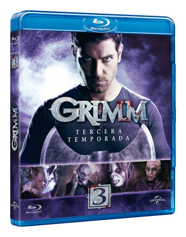 Grimm Tercera Temporada Blu-Ray
