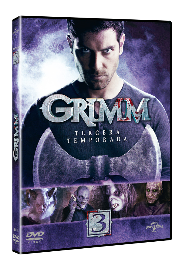 Grimm Tercera Temporada DVD