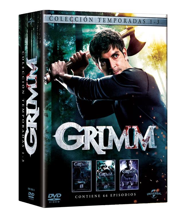 Grimm Temporadas 1, 2, y 3 en DVD