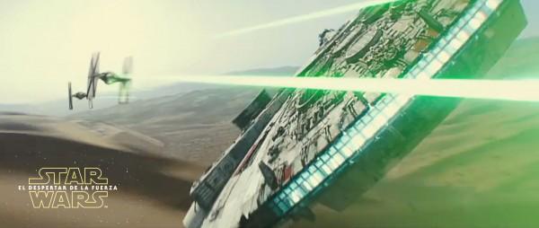 Star Wars: El Despertar de la Fuerza: Halcón milenario