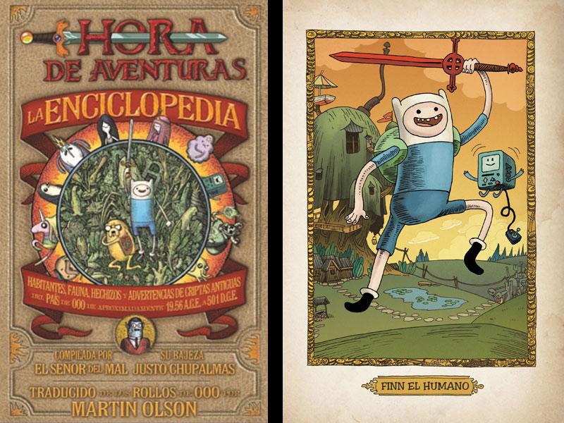 Norma Editorial. Enciclopedia, hora de aventuras