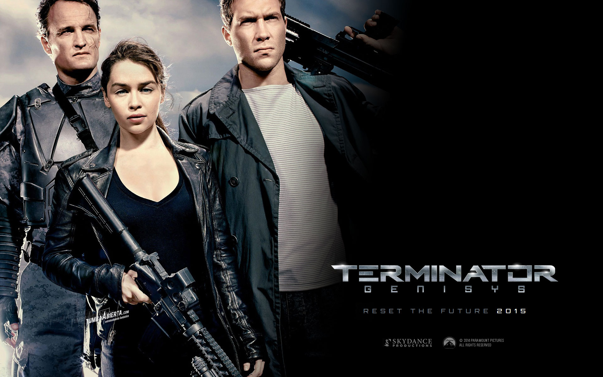 Terminator Genisys. Wallpapers