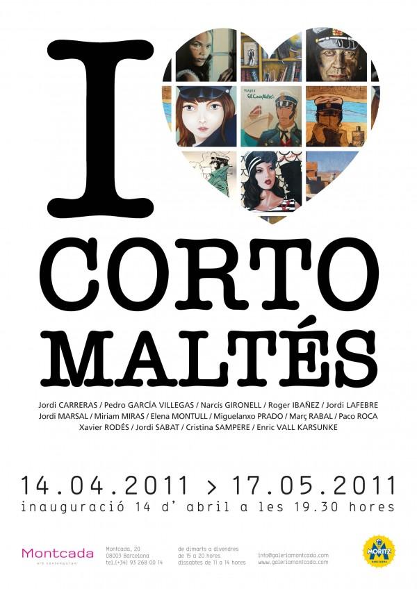 I love Corto Maltés. Barcelona. Sala Montcada