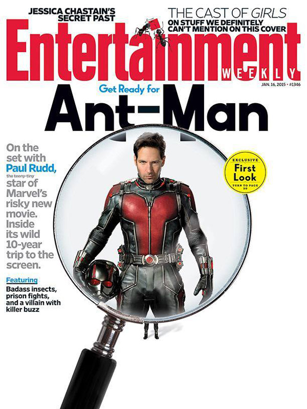 Ant Man portada Entertainment Weekly