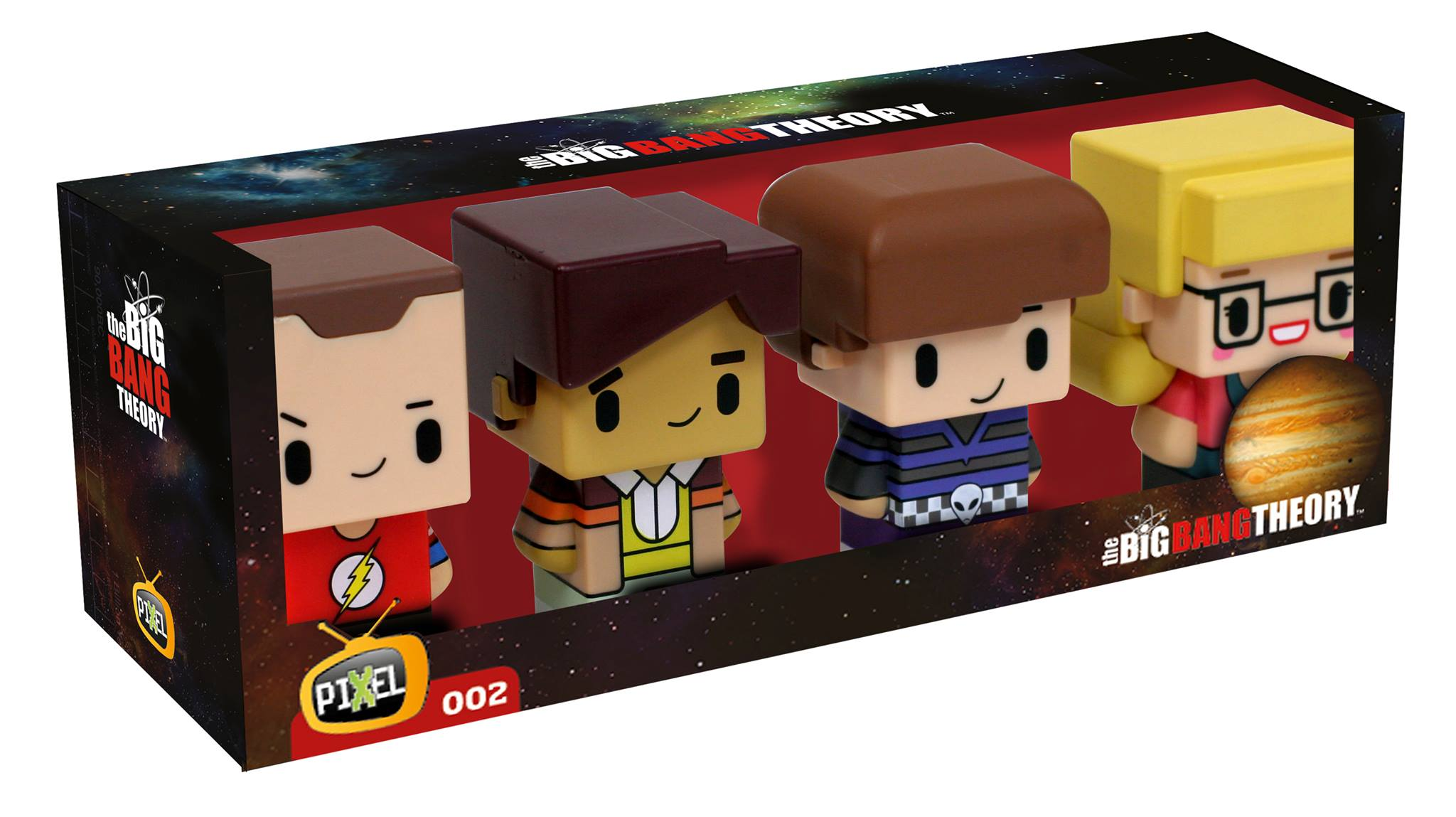 The Big Bang Theory SD TOYS PIXEL serie 2