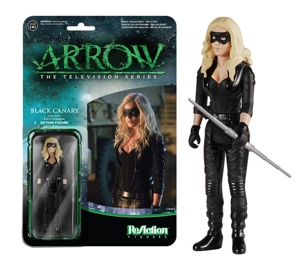 FUNKO. ReAction Black Canary