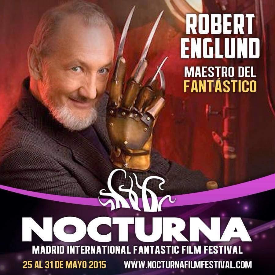 Robert Englund en Nocturna 2015