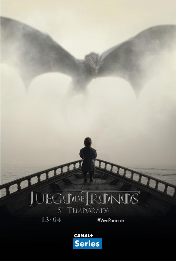 Poster. Juegos de tronos Temporada 5