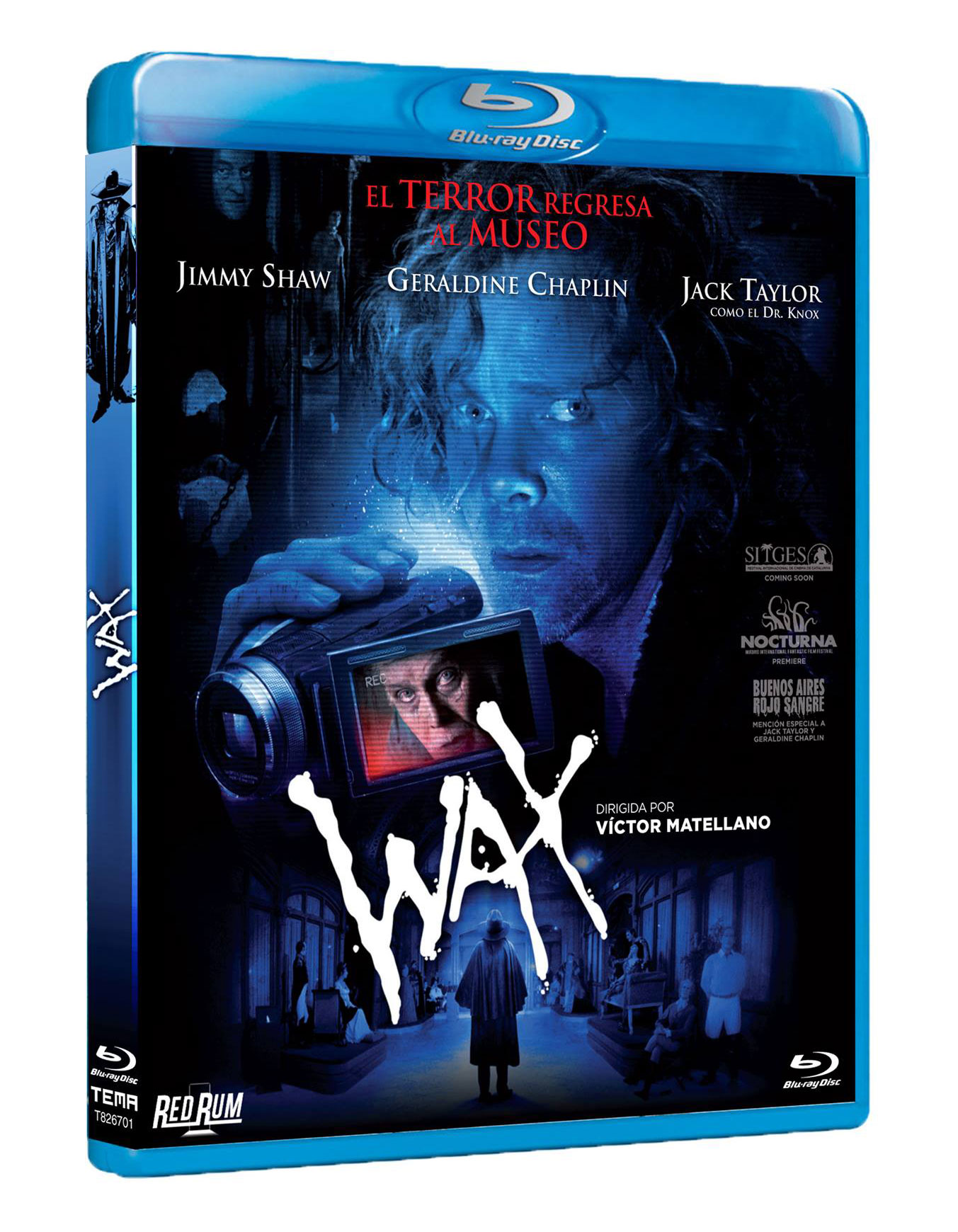 WAX carátula DB Blu-Ray