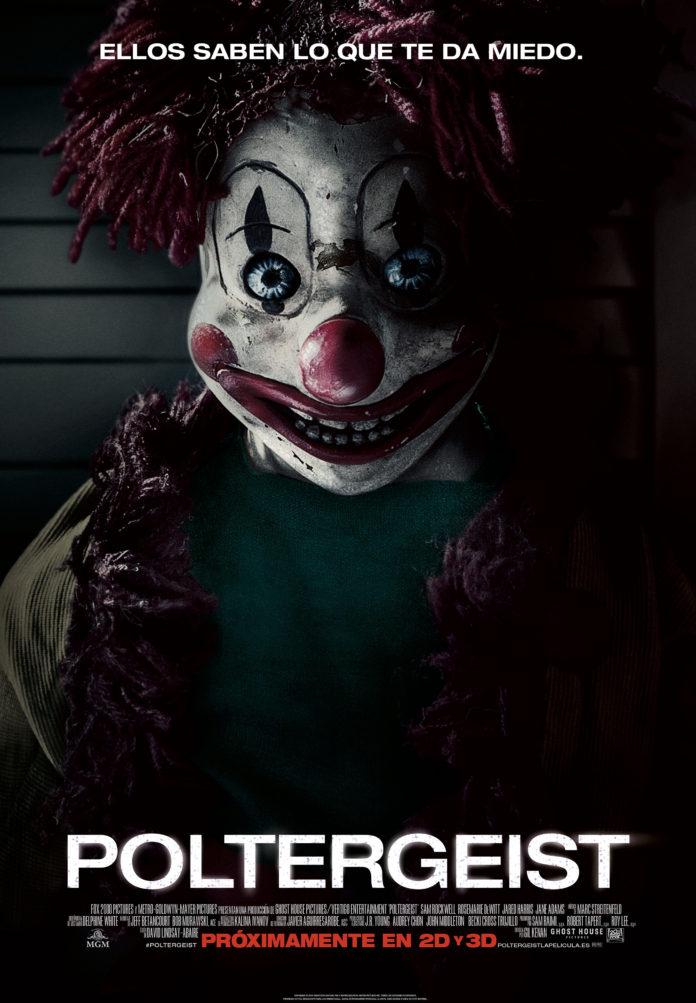 Poltergesit remake poster