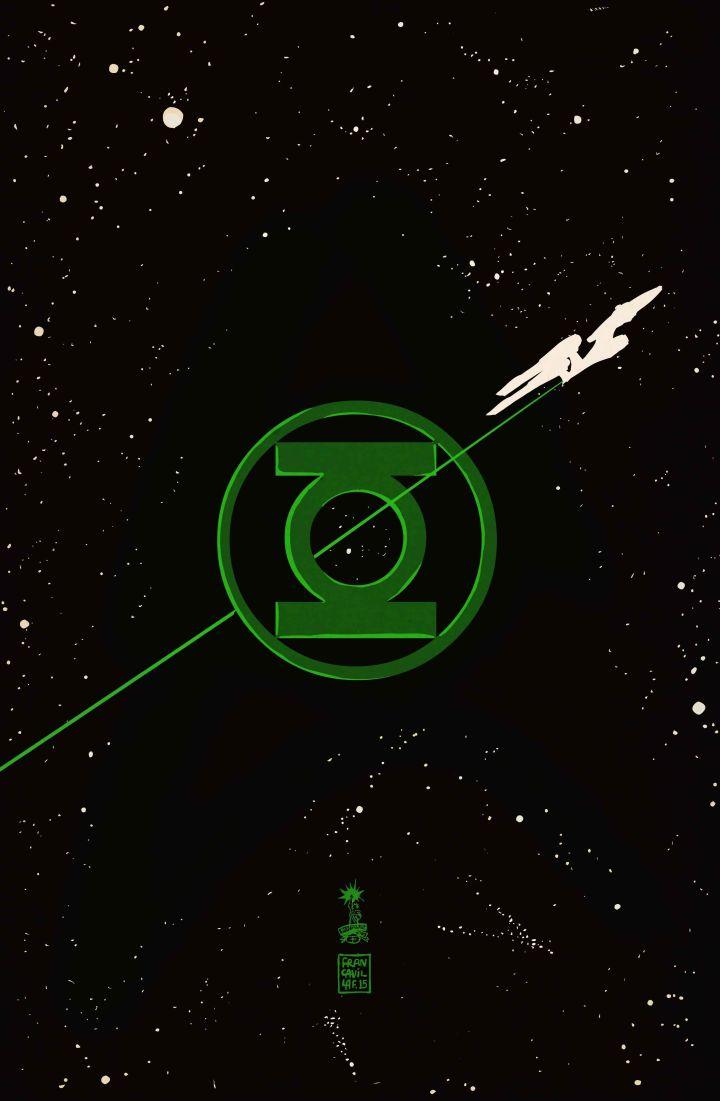 Star Trek-Green Lantern. The Spectrum War