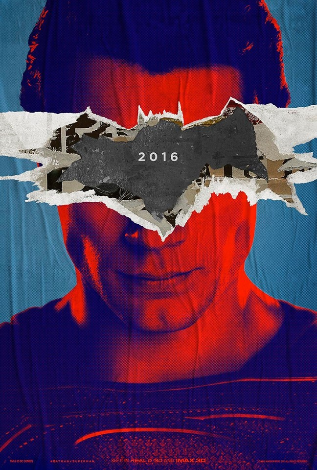 Batman v Superman poster Superman