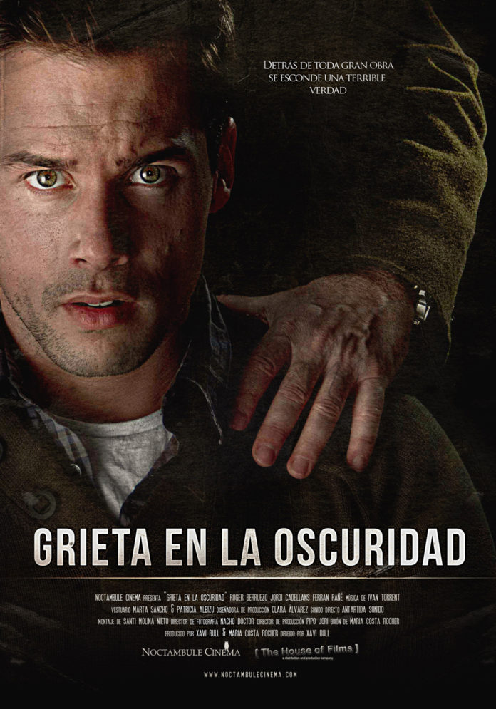 Poster. Grieta en la oscuridad