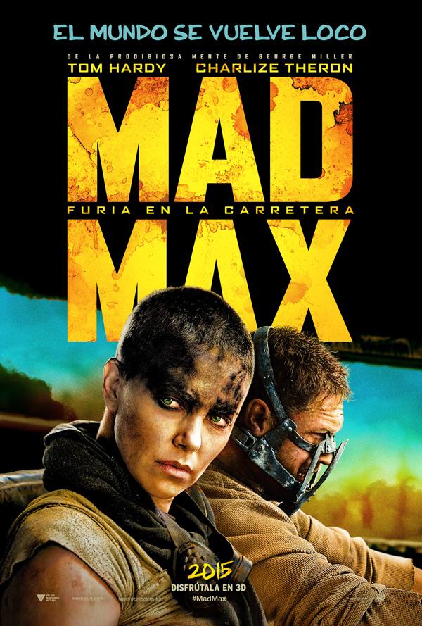 Mad Max. Poster Español
