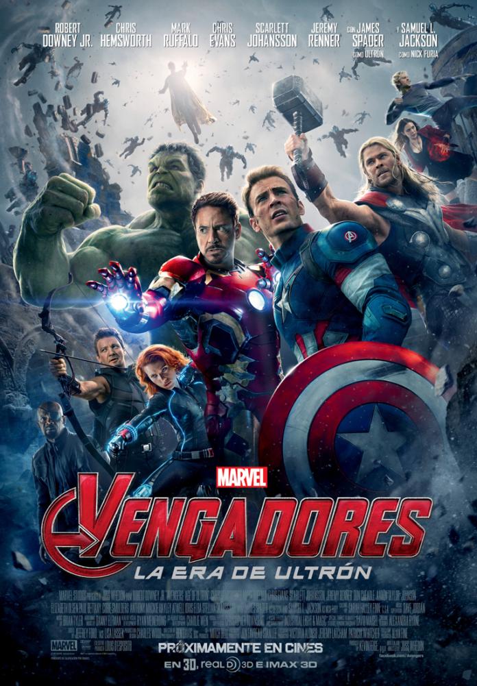 Vengadores: La Era el últrón poster