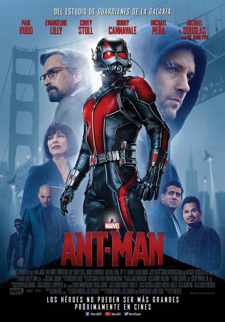 Ant-Man Marvel poster