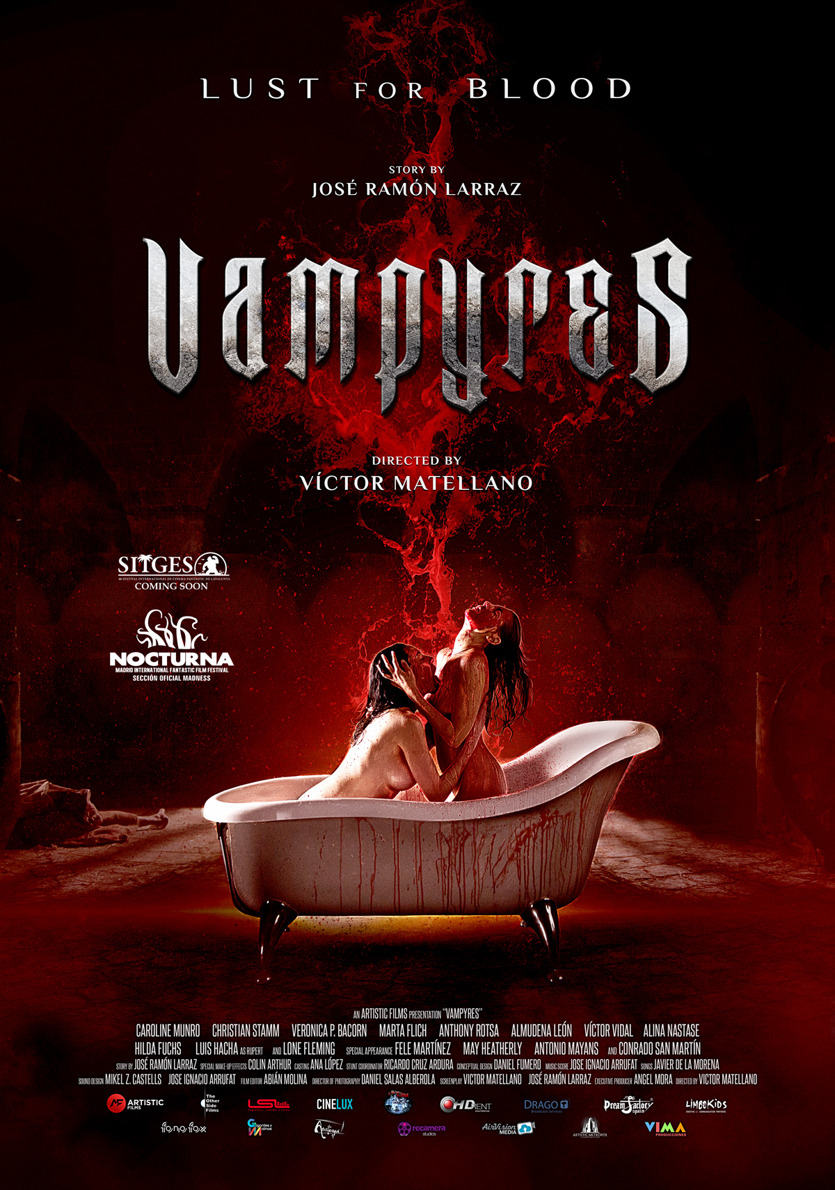 Vampyres. Poster Oficial