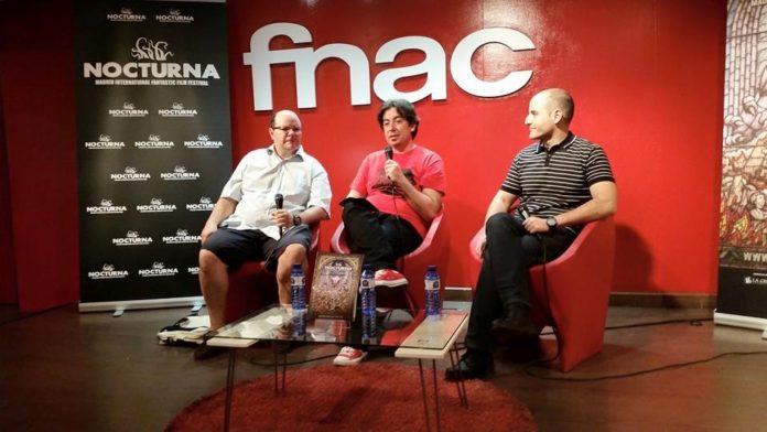 José Luis Alemán, Luís Rosales, Sergio Molina. Nocturna 2015