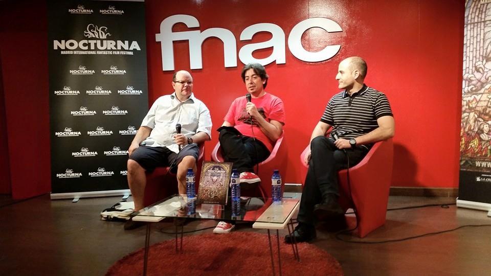José Luis Alemán, Luis M. Rosales , Sergio Molina. Nocturna 2015