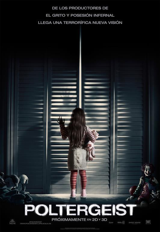 Teaser póster 'Poltergeist' (2015).