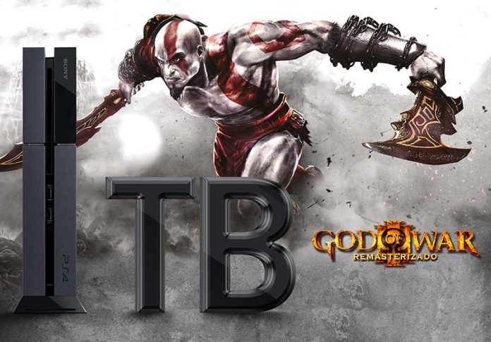 Ps4 God of War III remasterizado