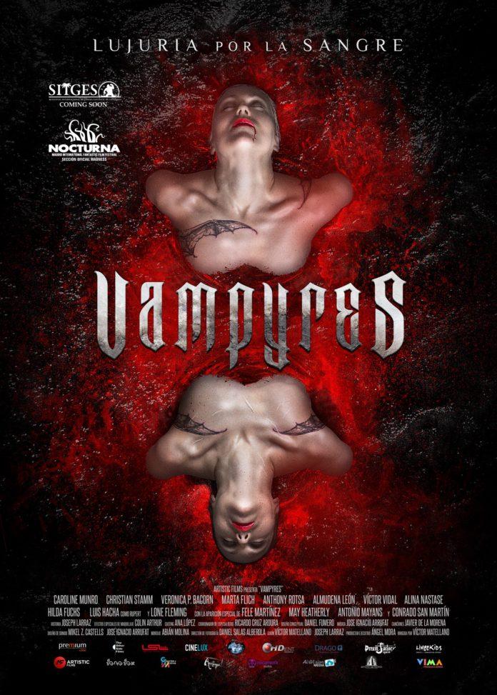 VAMPYRES poster de estreno en España. Limbo Kids.