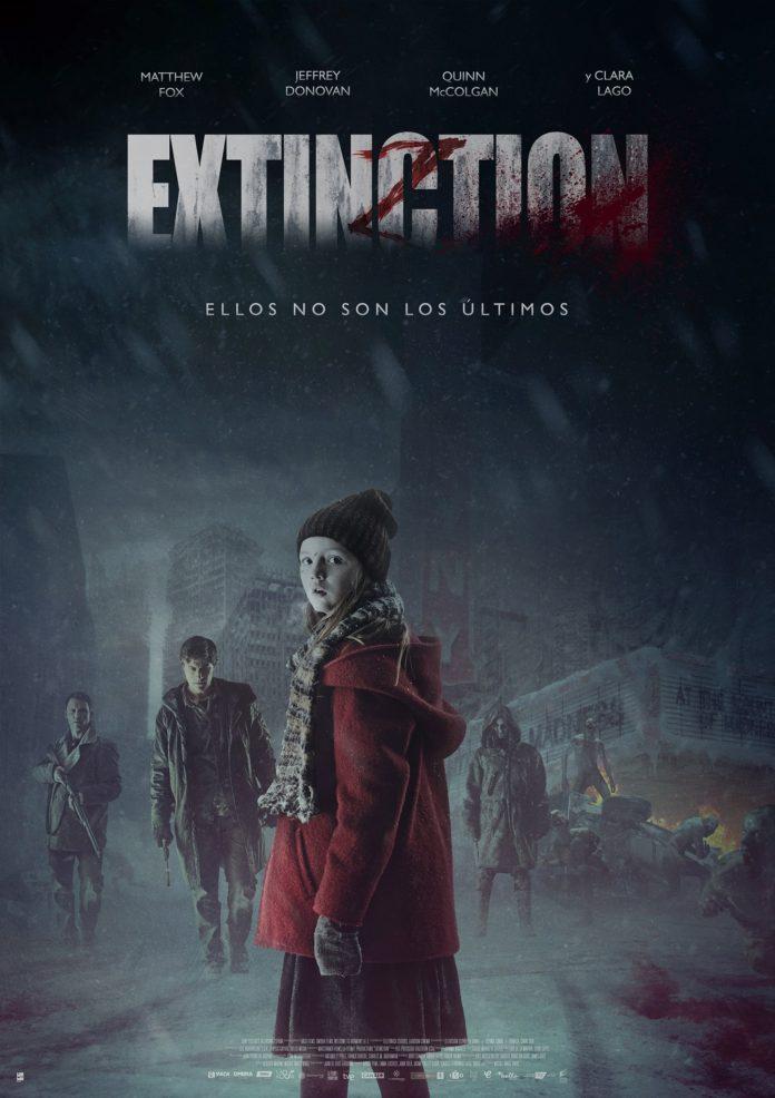 Extinction poster españa.