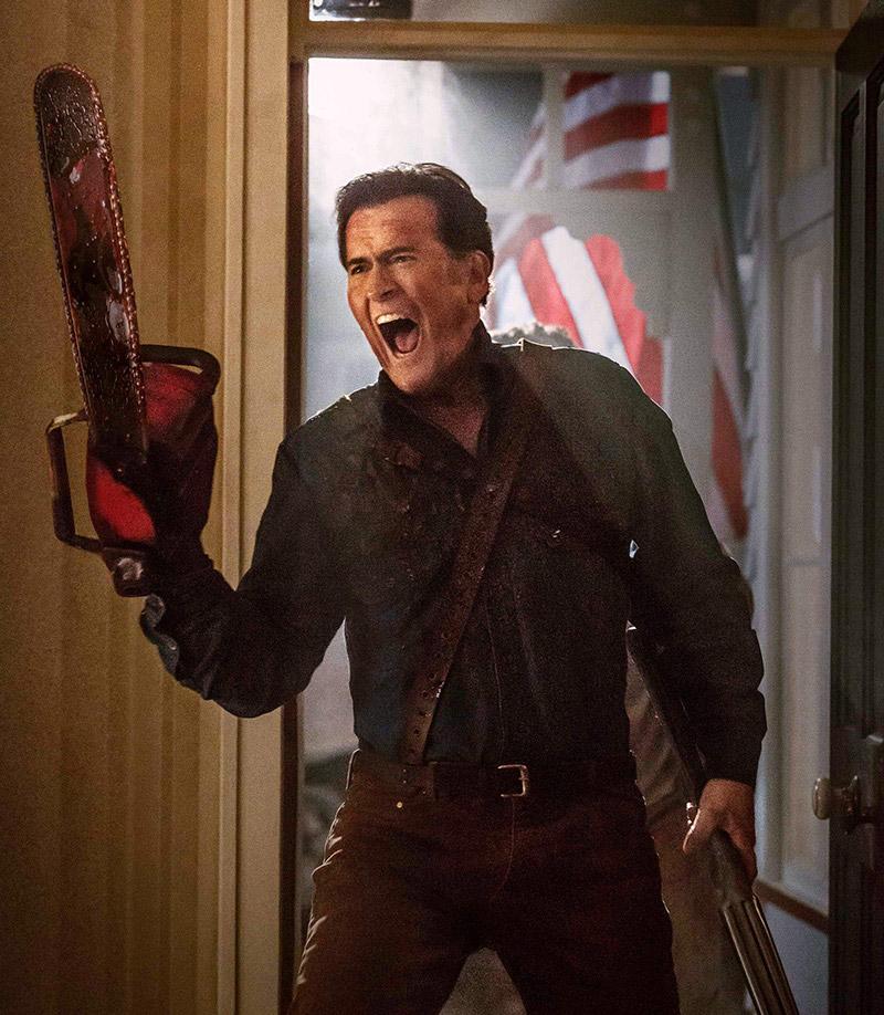 Ash vs Evil dead. Bruce Campbell