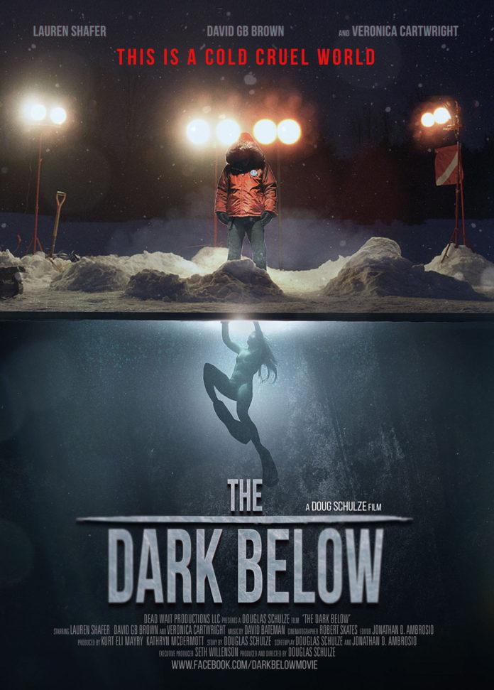 The Dark Below poster. Douglas Schoulze