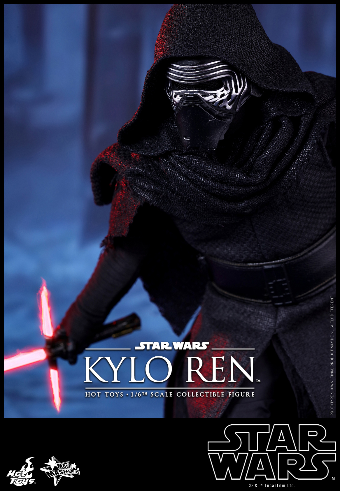 Hot Toys - Star Wars - The Force Awakens - Kylo Ren Collectible Figure